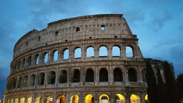Colosseum, Rome, Landmark, Coliseum, Flavian