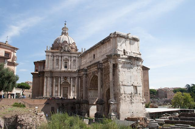 The Roman Forum, Rome, Italy, Monument