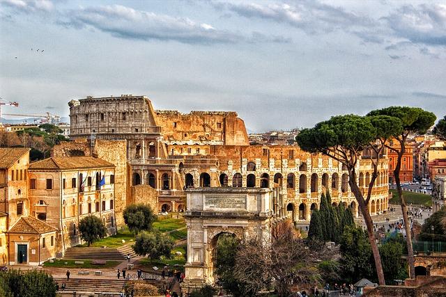 Colosseum, Rome, City, Roman Coliseum, Italy