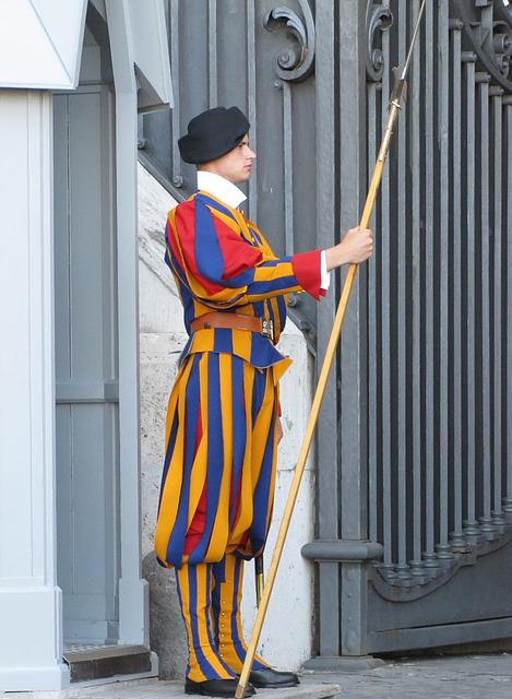 Rome, Italy, The Vatican, Swiss Guardar, Catholicism