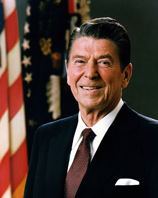 President, Usa, Ronald Reagan, United States, America