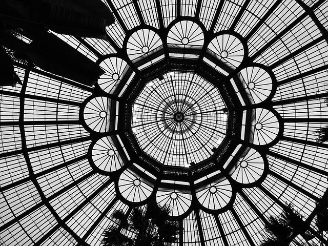 Brussels, Botanical Garden, Roof