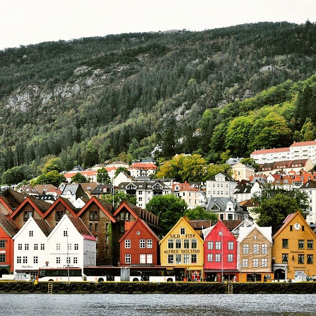 House, Building, Architecture, Roof, Travel, Fjord