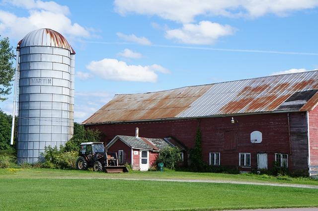 House, Architecture, Roof, Building, Sky, Barn, Farm