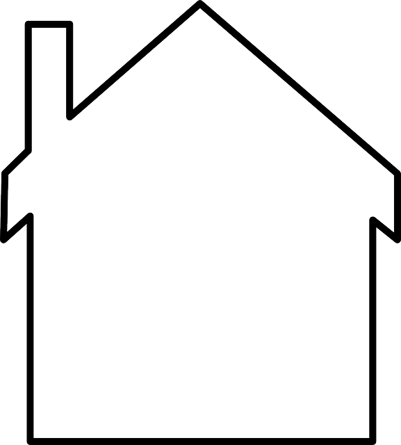 House, Home, White, Shapes, Chimney, Roof