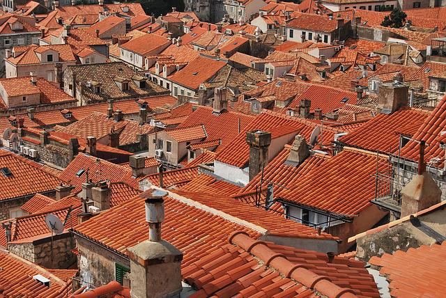 Roofs, Roof Tiles, Red, Dubrovnik, Rooftops, Tiles
