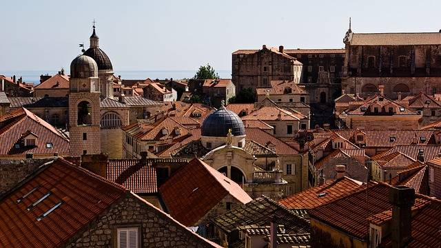 Roofs, Orange Roofs, Brown Roofs, Dubrovnik, Croatia