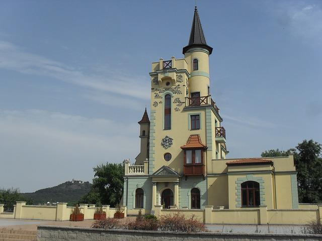 Teplice, Restaurace, Building, Roofs, Tourism, Town