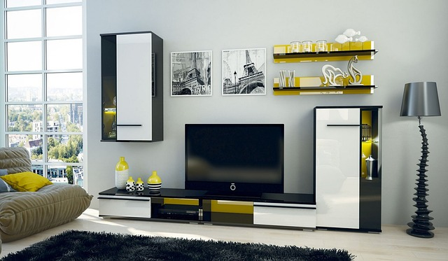 Apartment, Modern, Within, Room, Furniture, Lounge