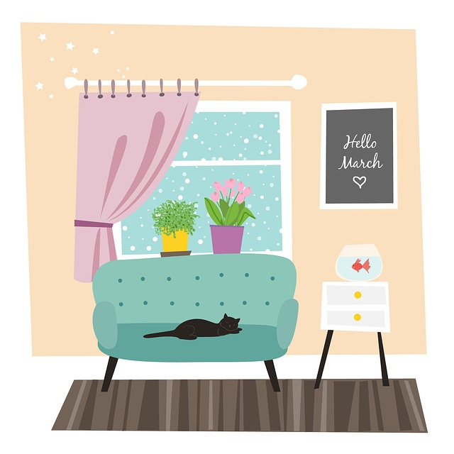 March, Spring, Room, Flowers, Interior, House