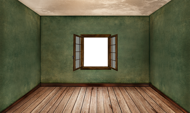 Room, Empty, Interior, Ground, Wood Floor, Brown, Wall