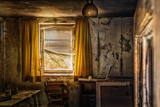 Living Room, Room, Old, Lost Places, Abandoned Place