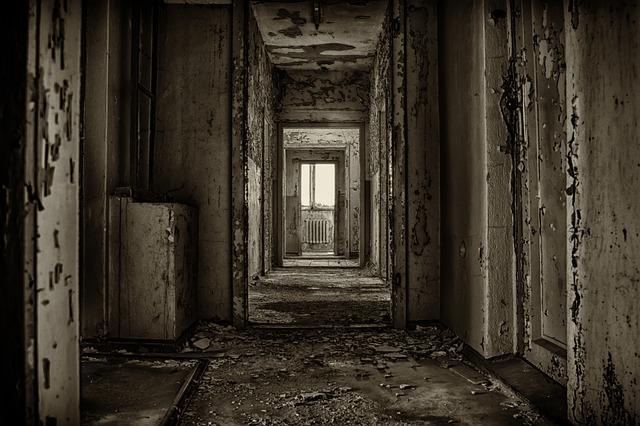 Home, Floor, Room, Gang, Gloomy, Pforphoto, Lost Places