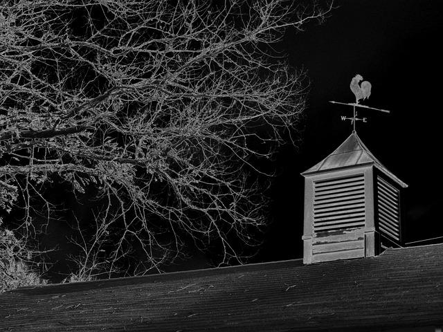 Weathervane, Copula, Barn, Weather Vane, Rooster, Wind