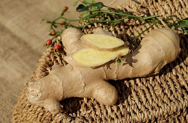 Ginger, Ingber, Immerwurzel, Root, Sharp, Spice