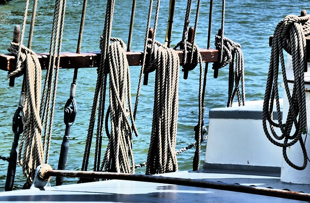 Dew, Rope, Rigging, Fixing, Woven, Knitting, Knot