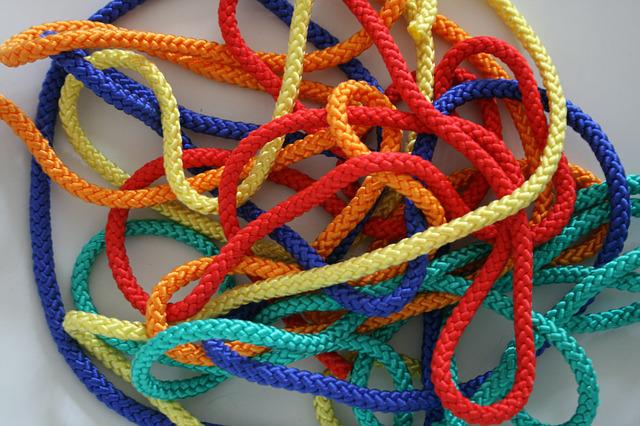 Rope, Knitting, Dew, Cord, Twisted Ropes, Leash