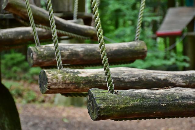 High Ropes Course, Climbing Forest, Rope Park