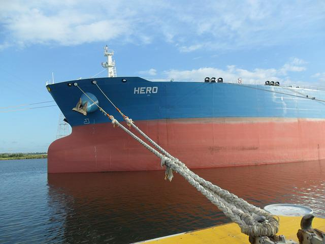 Ship, Mooring, Vessel, Tanker, Maritime, Rope, Connect