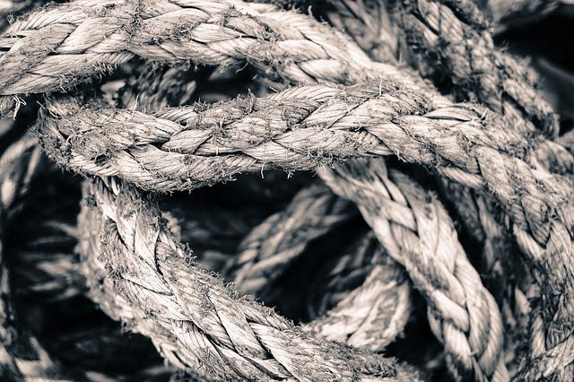 Rope, Knot, String, Strength, Cordage