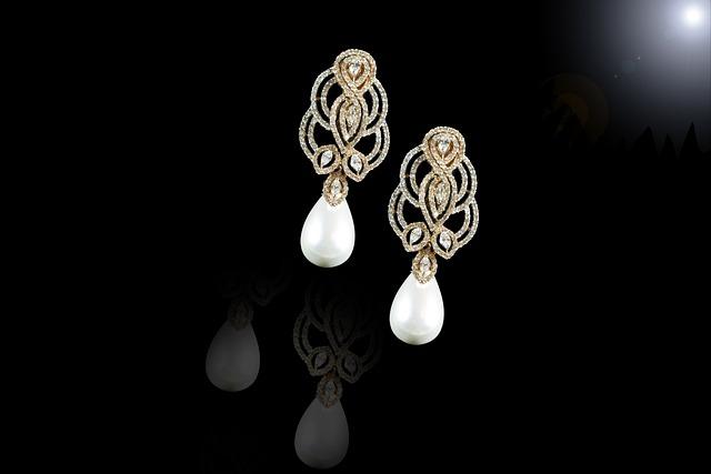 Rose Gold, Jewellery, Earring, Beautiful Pearls