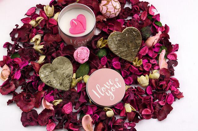 Valentine's Day, Rose, Love, Heart, Candle, Wishes