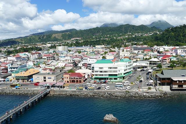 Dominica, Roseau, Caribbean, Sea, Island