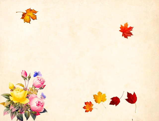 Flower, Background, Floral, Vintage, Roses, Bouquet