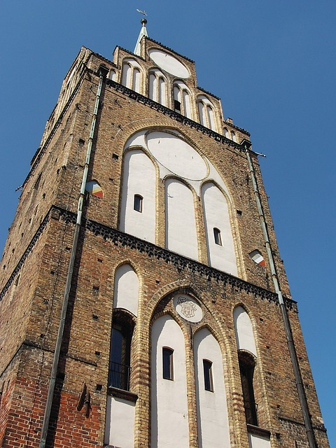 Hanseatic City, Brick, Rostock, Tower