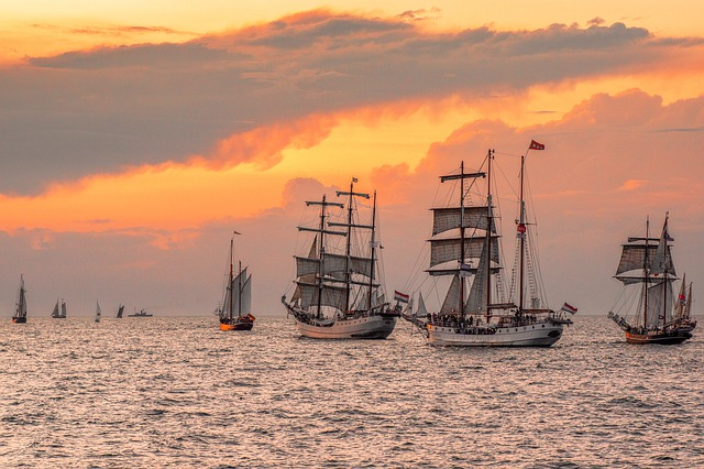 Hanse Sail, Rostock, Sail, Warnemünde, Sailing Vessel