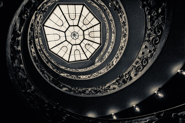 Rotate, Stairs, Spiral