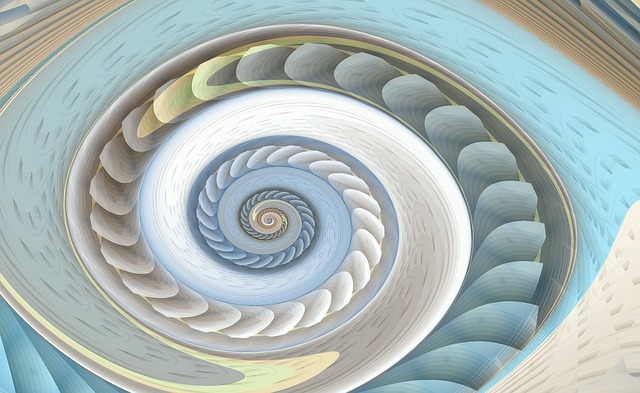 Spiral, Fractal, Swirl, Whirlpool, Rotate, Geometry