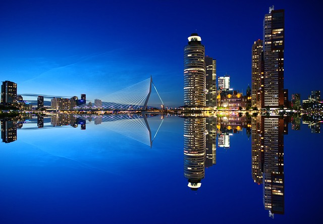 Rotterdam, Skyline, Architecture, Netherlands, City