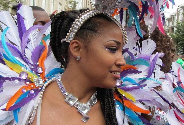 Party, Carnival, Happy, Beautiful Woman, Rotterdam
