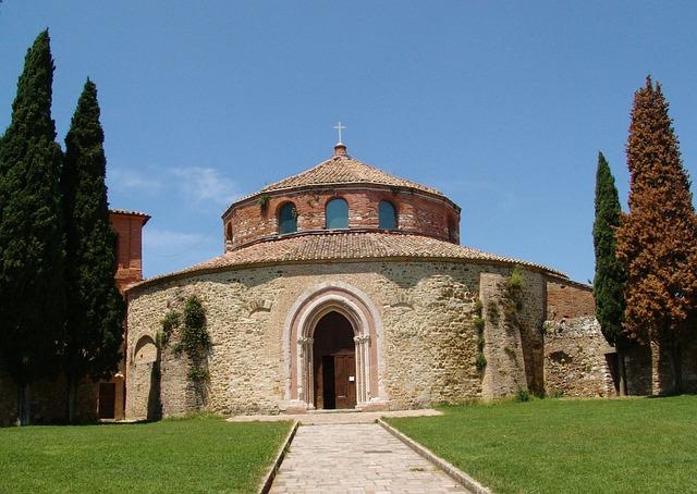 Italy, Perugia, Church, Building, Rotunda