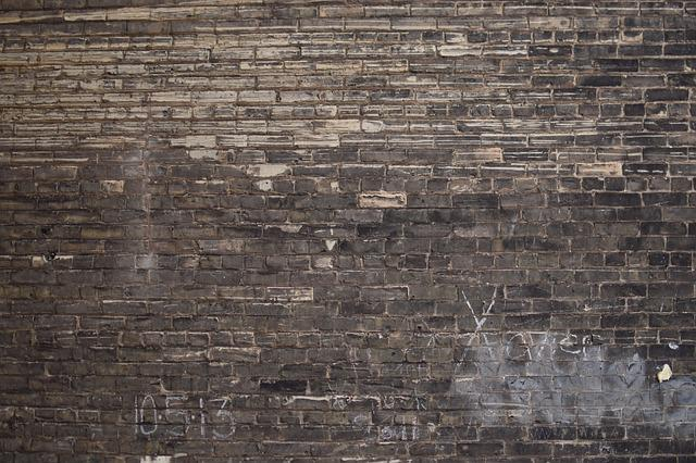 Brick, Dirty, Graffiti, Old, Pattern, Rough, Stone