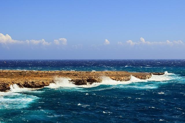 Rocky Coast, Waves, Sea, Rough Sea, Landscape, Cape