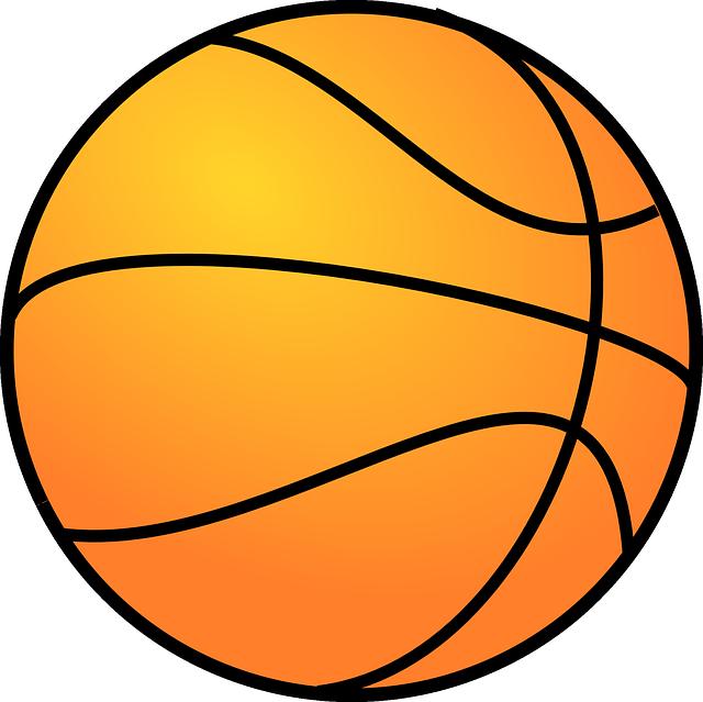 Basketball, Orange, Round, Game, Play, Sports, Basket