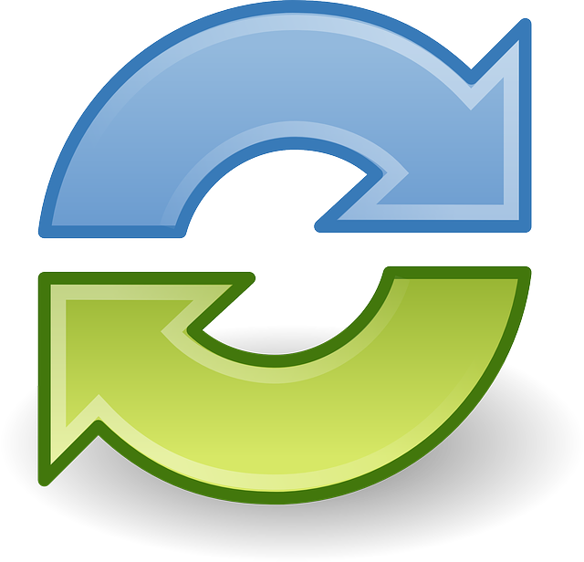 Synchronize, Sync, Arrows, Cycle, Recycling, Round