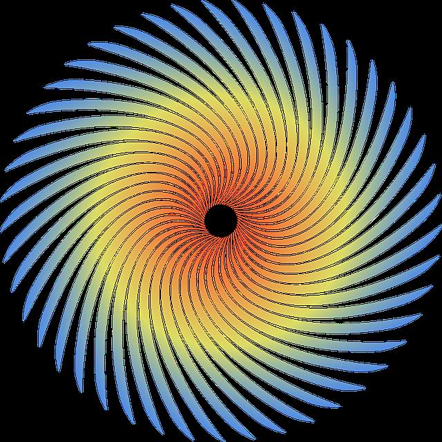 Spiral, Round, Logo, Technology, Concept, Corporate