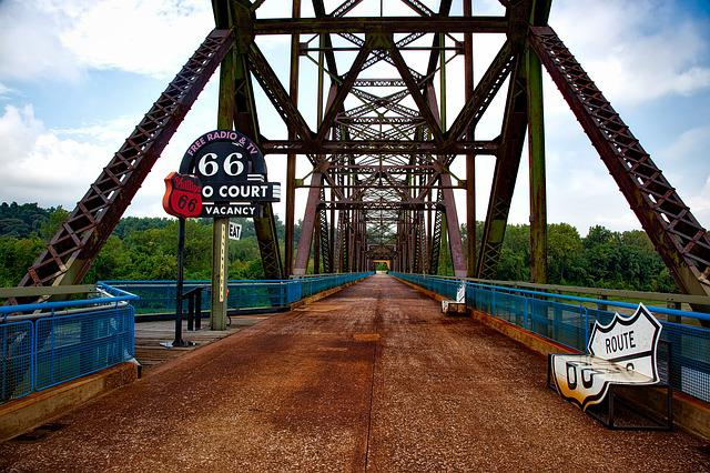 Chain Of Rocks Bridge, Missouri, Architecture, Route 66
