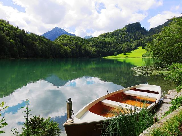 Alatsee, Rowing Boat, Summer