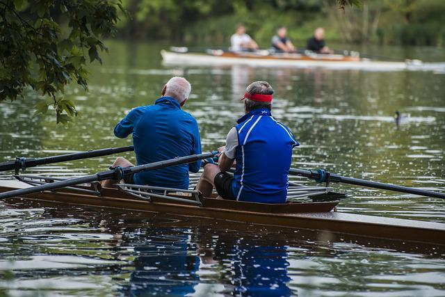 Rowing, Rower, Danube, River, Water, Boot, Water Sports