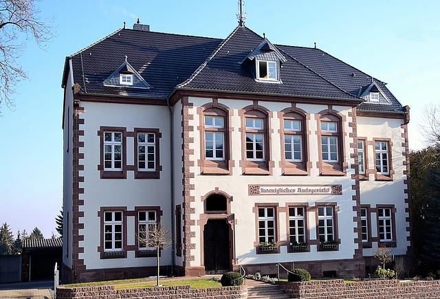 Royal Amtsgericht, Historic Building, Architecture
