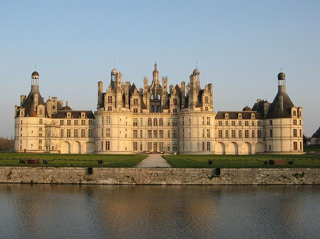 Castle, Chambord, France, Royal Castle
