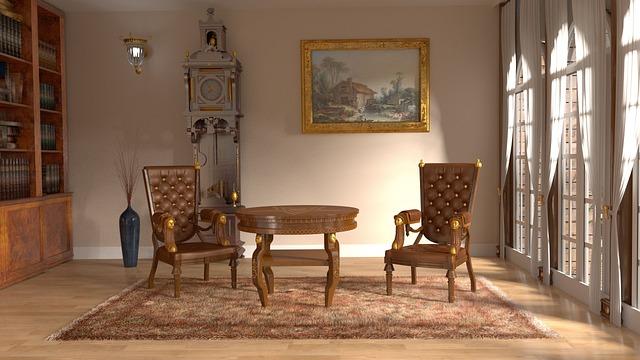 Royal Interior, Room, Sitting Room, Library, Interior