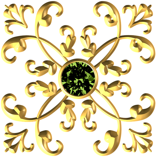 Gold, Metallic, Decorative, Royal, Ornament, Flourish