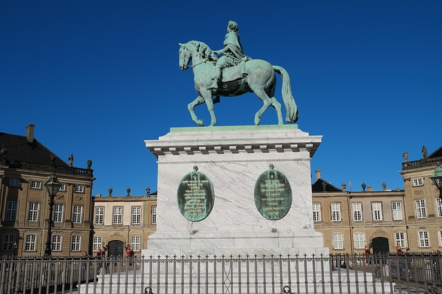 Amalienborg, Copenhagen, Denmark, Royal Family, Royal
