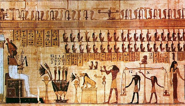Egypt, Papyri, Royals