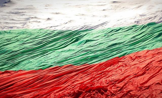 Flag, Bulgaria, Rozhen